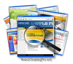 House Cleaning Business Website