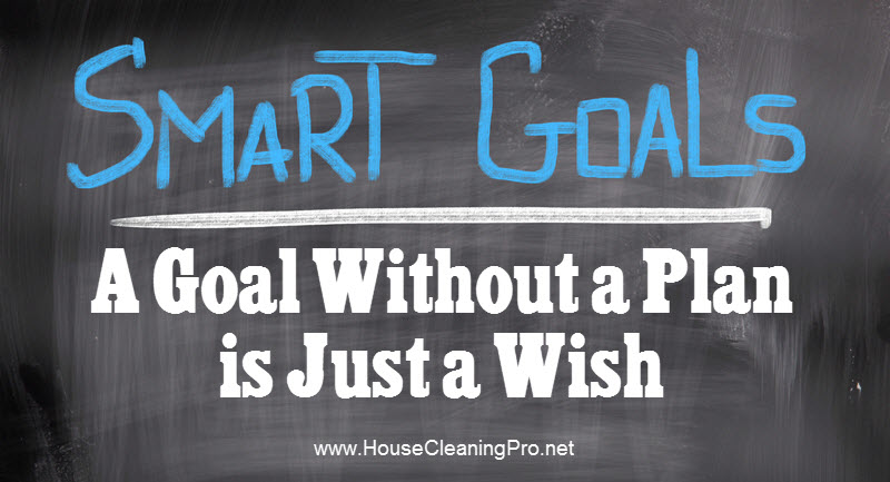 goals for house cleaning business