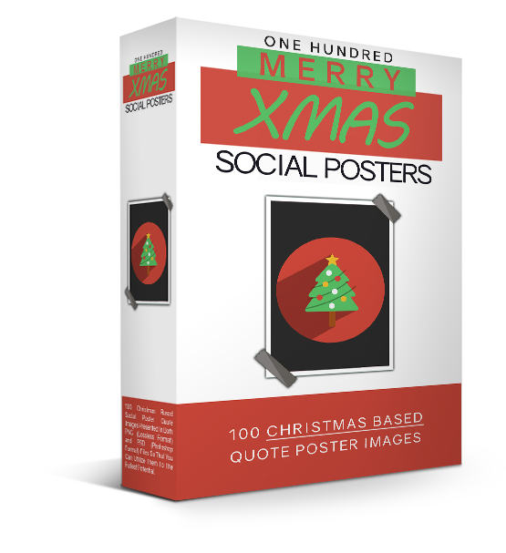 Christmas Social Poster Images