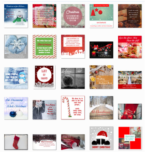 Christmas Quote Posters