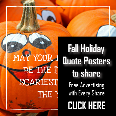 holiday quote posters